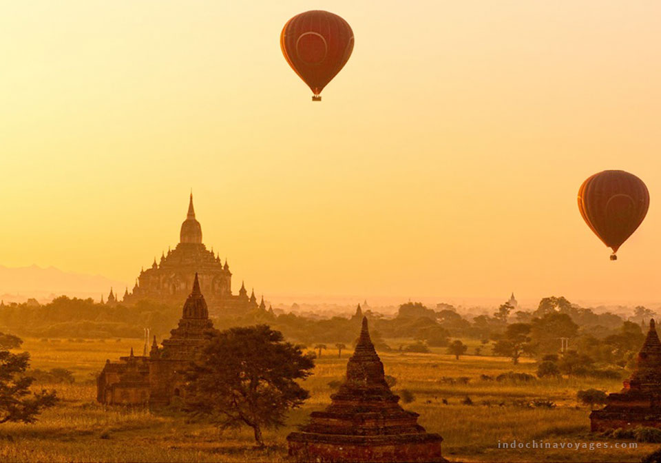 The beauty of Bagan, Myanmar