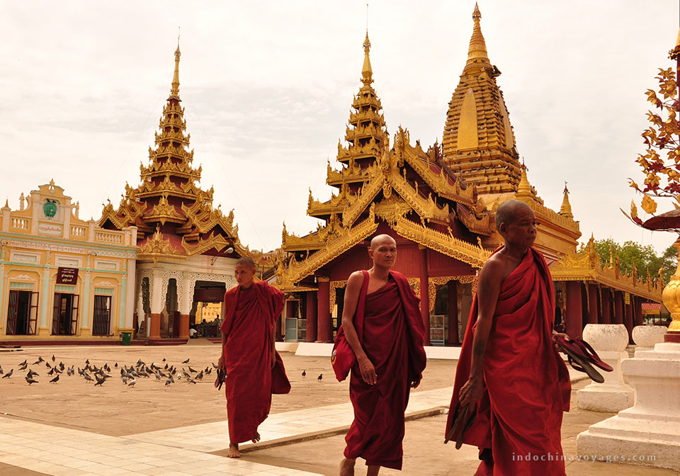 visit to the city center with its faded colonial buildings and the gilded Sule Pagoda.