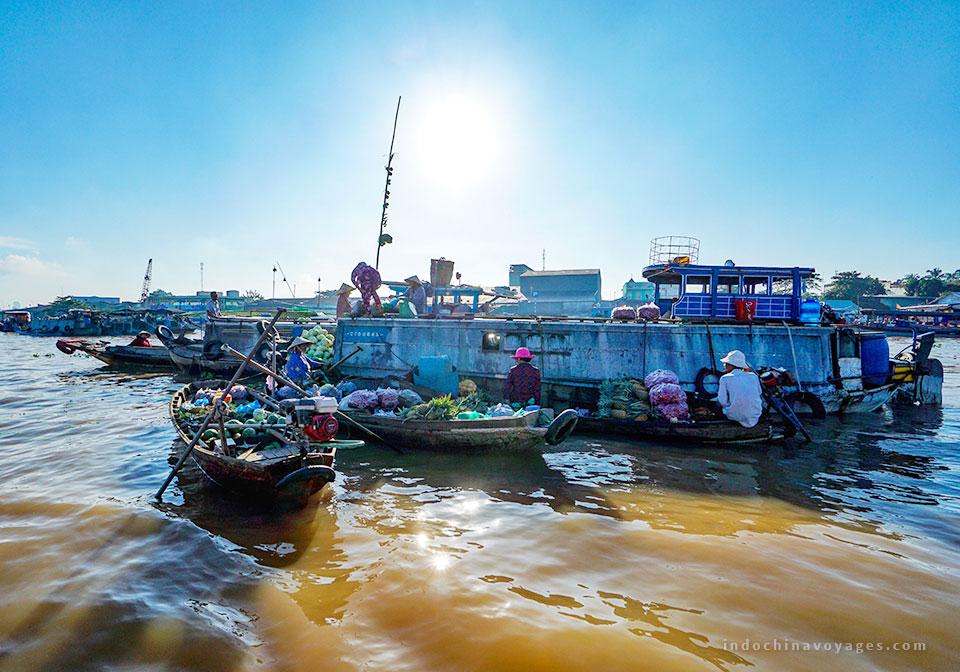 My Tho Mekong river