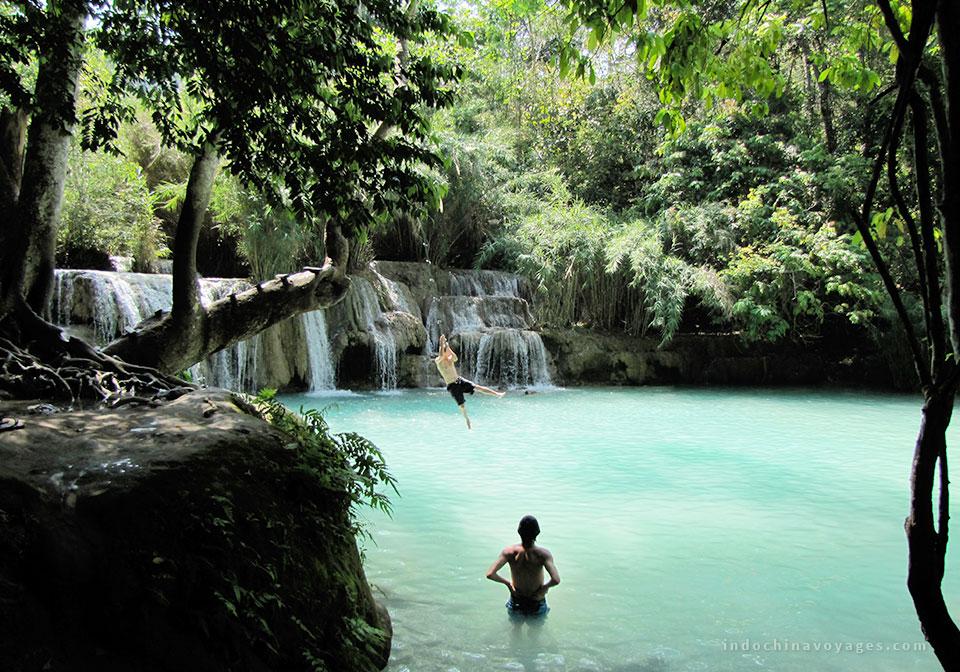 Kuang-Si-Waterfalls