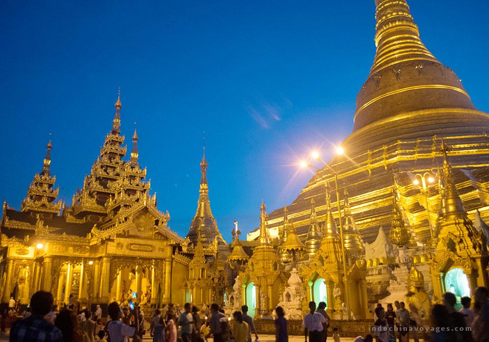 visit Yangon city