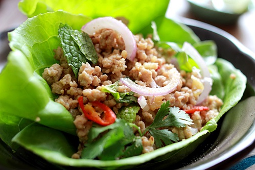 Delicous and 'magical' Larp – Laos' traditional food