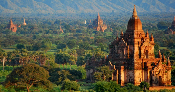 Bagan – an ancient city in the Mandalay region