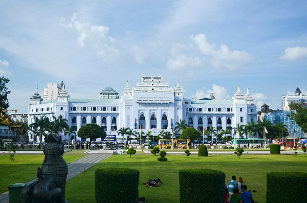 City Hall in Yangon – Myanmar