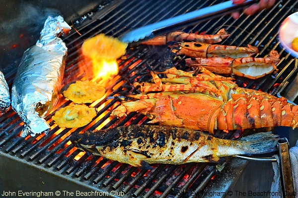 The grilled seafood is good, great and gorgeous