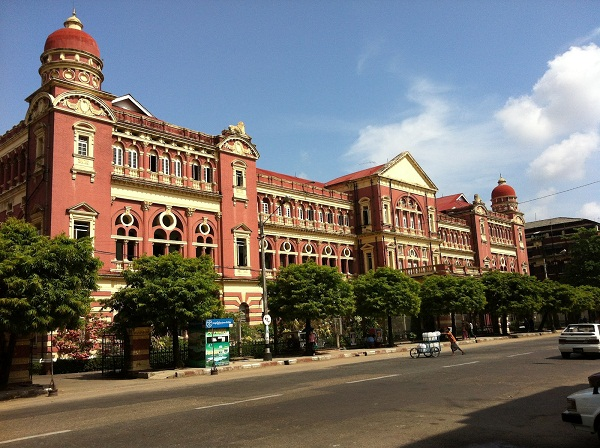 High Court in Yangon – Myanmar