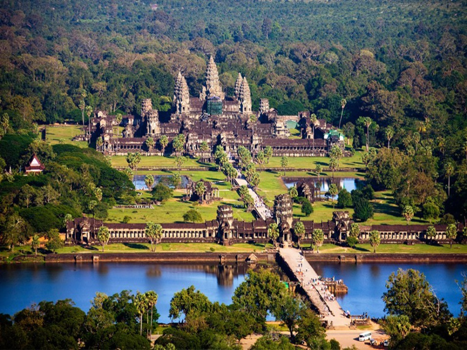 Overview of Angkor Wat