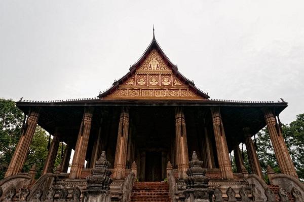 Haw Pha Kaew in Vientiane, Laos