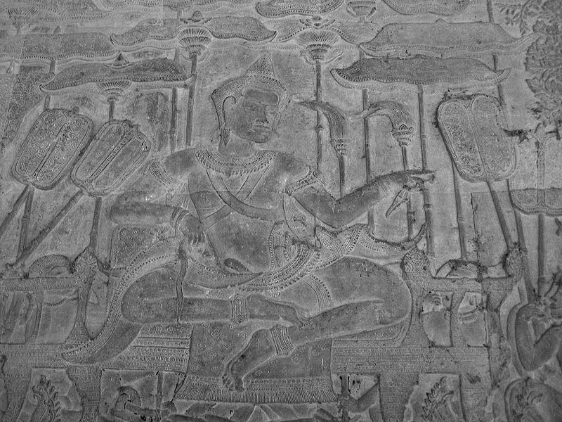 King Surja-Warman II (1113-1150), the builder of Angkor Wat