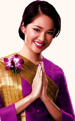 Thais' gesture of greeting