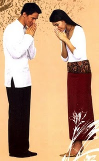 When you are in thailand do you do the wai the gesture of greeting someone who is equal in age or social status m4hsunfo