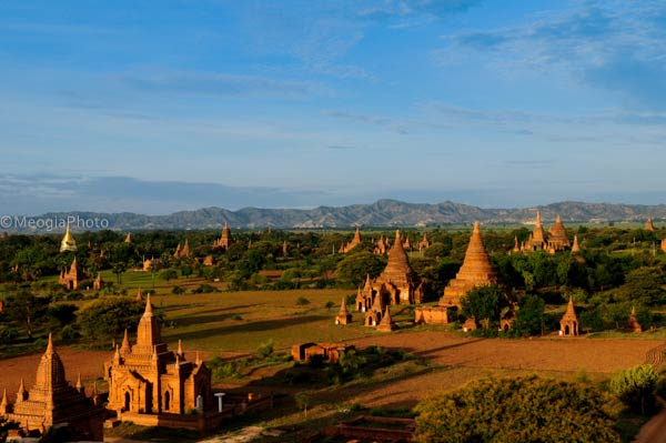 Thousands of ancient temples in Bagan