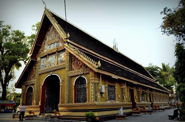 Wat Si Mung in Vientiane, Laos