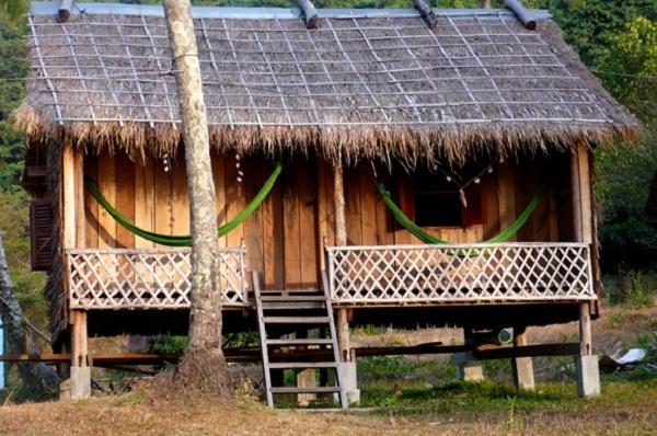 A beach bungalow