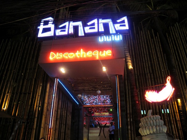 Famous Banana Disco in Patong Beach
