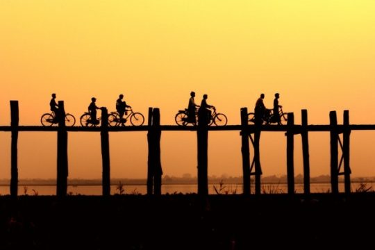 Ubein Bridge – The most gorgeous place for watching the sunset