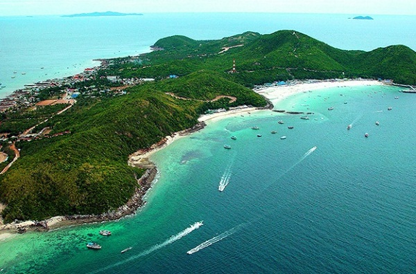 Koh Larn from above