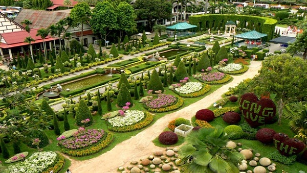 Natural beauty of the garden