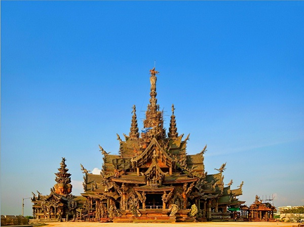 Discover the Sanctuary of Truth in Pattaya, Thailand