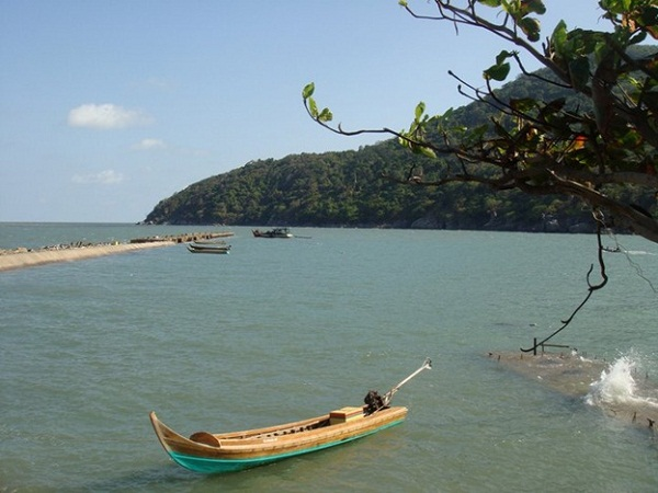 A peaceful corner of Hon Khoai island
