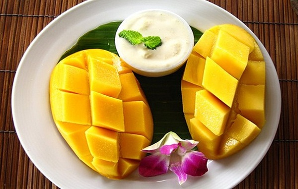 Thailand's premier tropical fruit – a main ingredient of the Khao Niaow Ma Muang