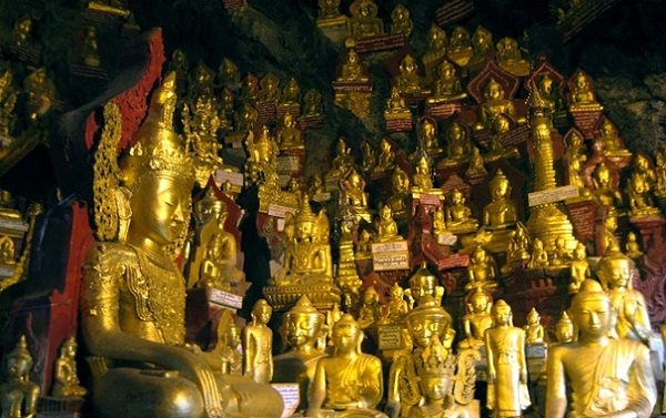 Pindaya Caves - one of the significant beauties