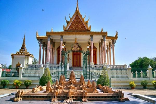Silver Pagoda, Cambodia