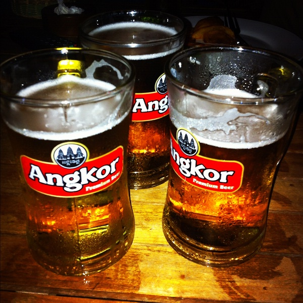 Angkor Beer – the famous local beer