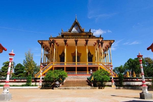 The 100-pillar Pagoda