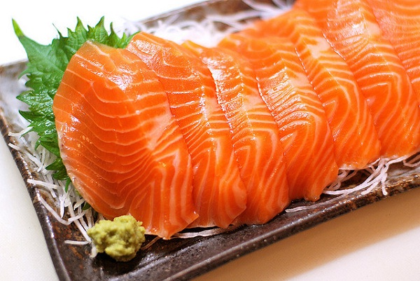 Sapa salmon is blessed to have very fresh meat