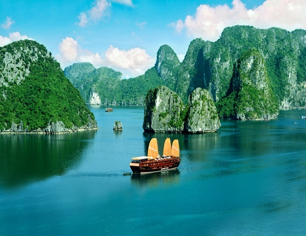 Halong Bay is one of the most popular destinations in Vietnam
