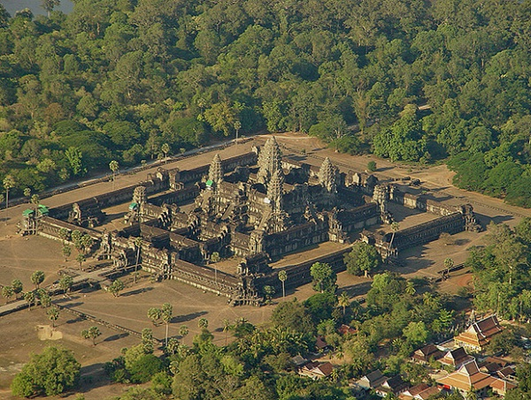 Angkor Wat – the most magnificent and largest of all Angkor temples