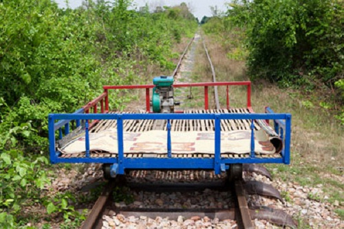 The fast and reliable train service in Battambang