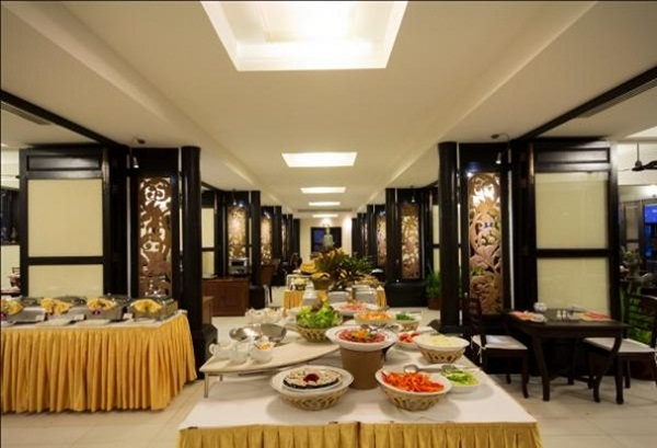 Restaurant in Royal Angkor Resort and Spa