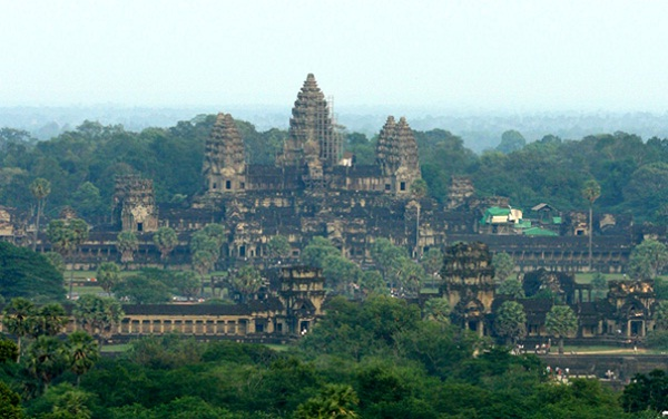 Angkor Wat is hiding itself in deep forests