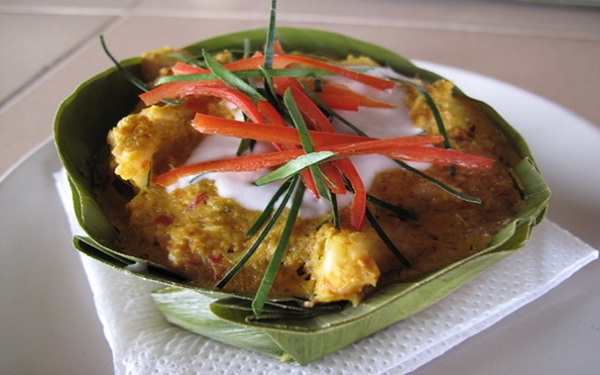 Fish Amok - the essence of Cambodian cuisine