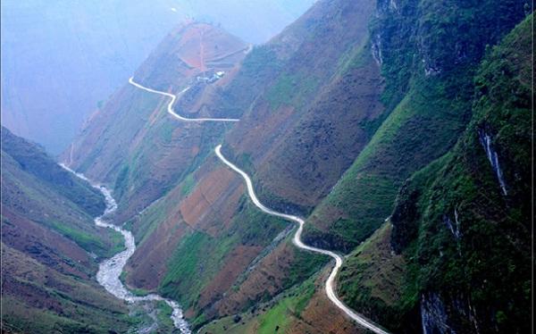 Ma Phi Leng Pass in Hagiang