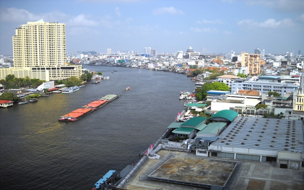 Great full-day excursion to Chao Phraya river, Bangkok, Thailand