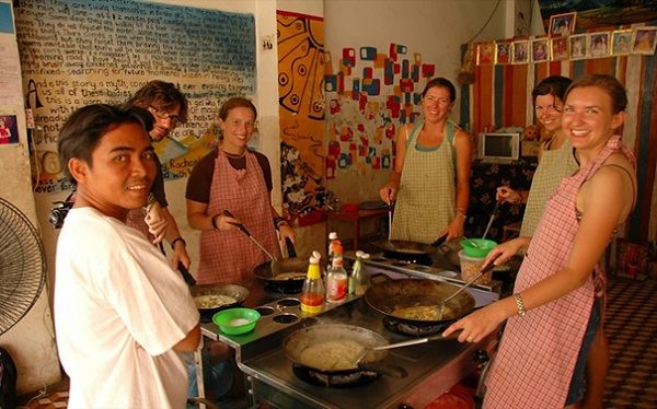 Battambang - right place for learning how to make Cambodian unique dishes