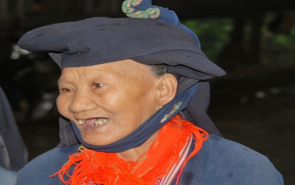 Local people in Giang Mo village are very friendly and hospitable hosts
