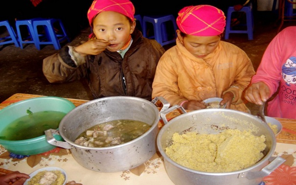 Some unique dishes of H'mong people in Sapa