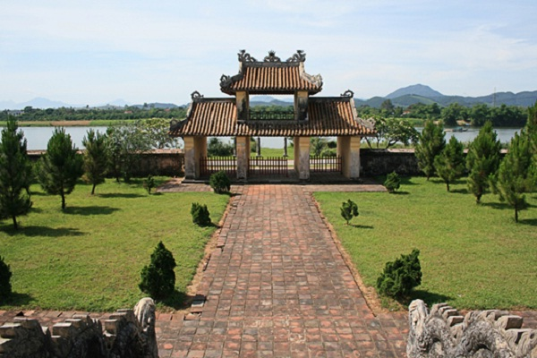 Van Mieu in Hue, the traditional education symbol of an old dysnasty
