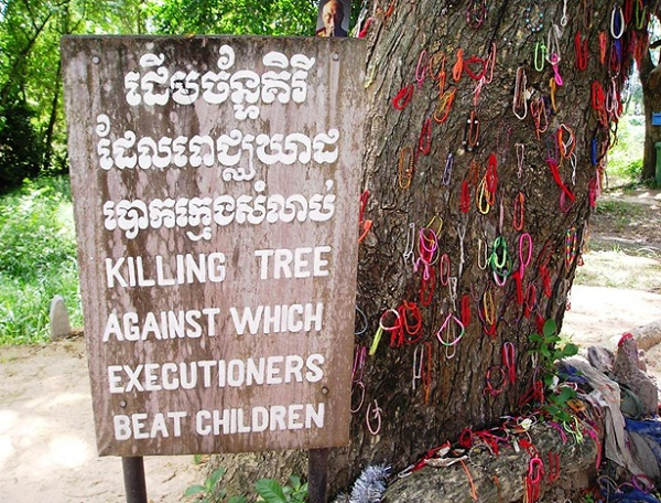 The Killing Tree in Choeung Ek