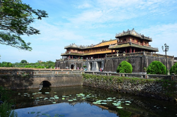 Ngo Mon Gate was only reserved for the Kings in the past