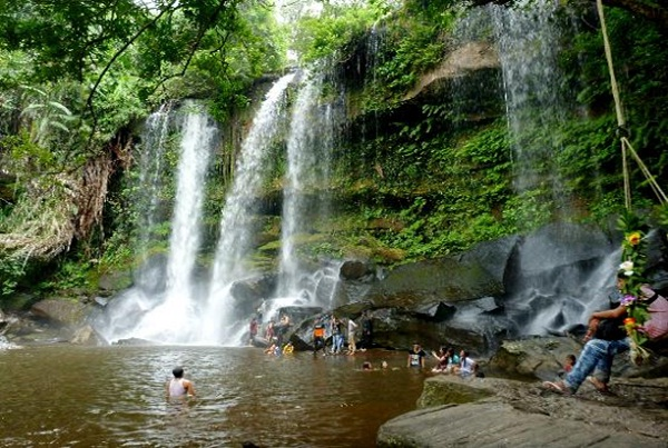 Waterfall at Kulen Mountain