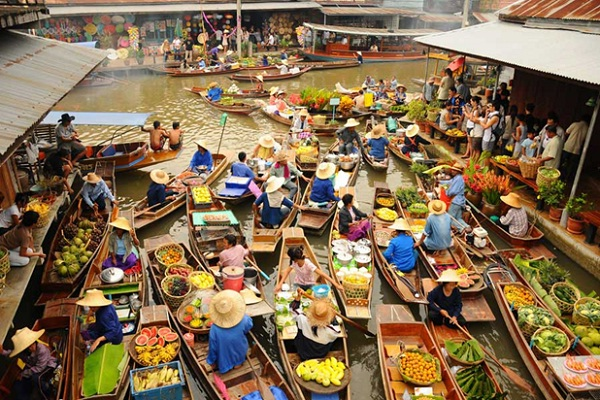 Top 5 floating markets in Thailand you have to visit