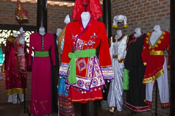 They are made into fantastic clothing, including traditional costumes