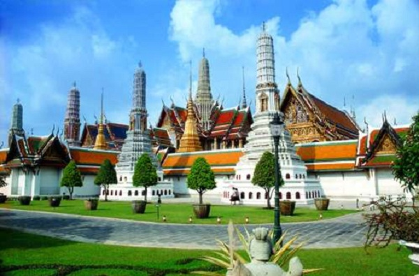 Ancient structure of Thailand royal palace