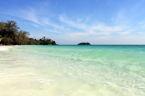 Geogeous beach at Koh Rong Island