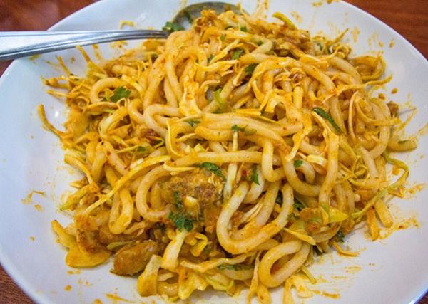Burmese spaghetti